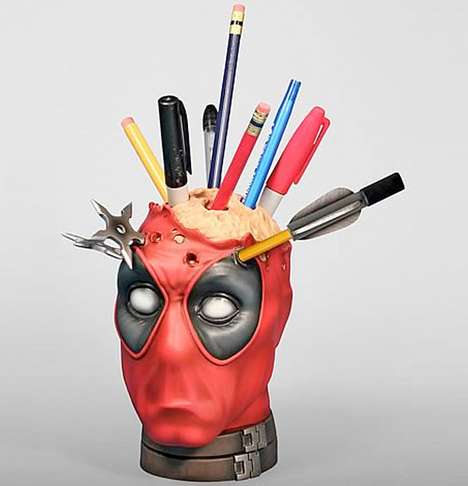 Deadpool Pencil Holder
