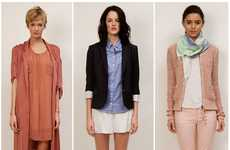 Preppy Pajama Fashion - The Aritzia Spring 2012 Collection is Comfortable and Chic