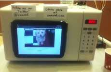 Viral Video Appliances - The uWave Plays Youtube Videos While You Wait for Your Food to Warm