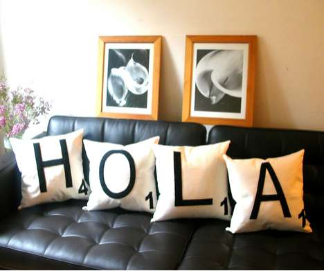 Scrabble Pillow Cases