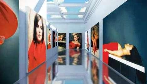 Fashion Legend 3D Exhibits - Valentino Garavani Virtual Musuem is Dedicated to the Designer's Career