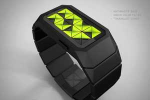 The Adjust Concept Watch Tells Time Using LED Triangles