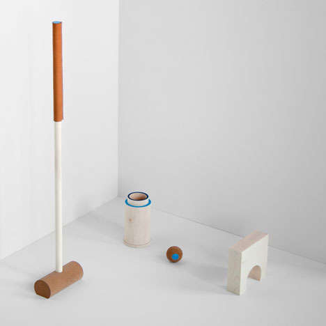 Cork Croquet Sets