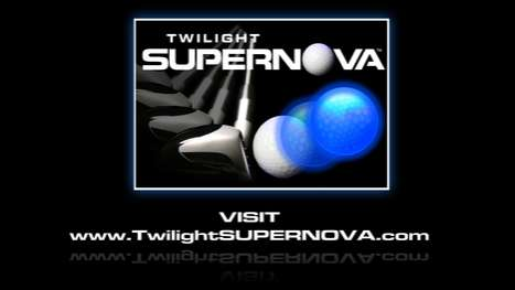 Twilight SUPERNOVA lighted Golf Ball