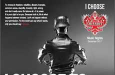 "Identity-Defining Vodka Ads - Smirnoff 'I Choose' Campaign Looks for ""Heros"" and ""Screamers"""
