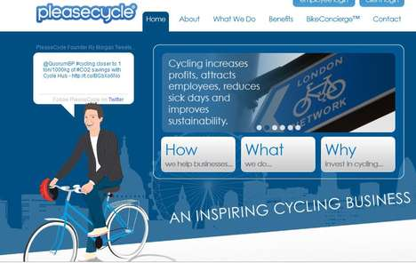 Rewards-Based Biking - PleaseCycle Offers an Air Miles-Like Program for Cyclists