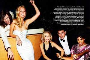 The Alexi Lubomirski 'Everyone's Invited' Shoot for Harper's Bazaar