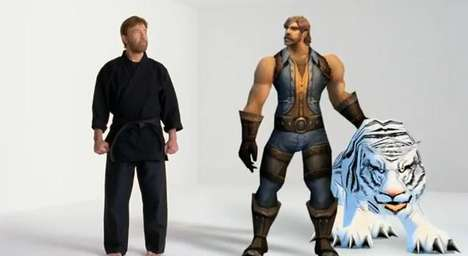 Chuck Norris World of Warcraft commercial