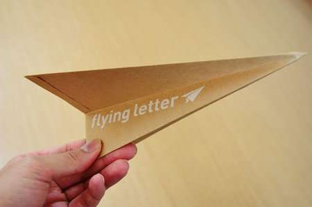 paperplane envelopes
