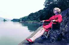 Wicked Wheelchair Fashion Shoots - Iveta Andelova x Kee Magazine Takes a Bold Approach