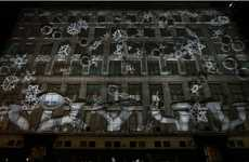 3D Holiday Displays (UPDATE) - The 2011 Saks Fifth Avenue 3D Projection Brings Magic to Shopping