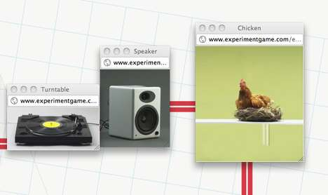 Experiment with HTML5 and a chicken