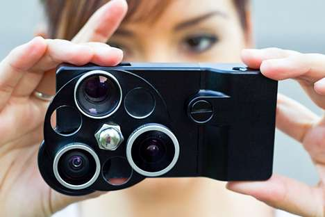 Rotating Smartphone Accessories - The iPhone Lens Dial Enhances Cellphone Camera Capabilities