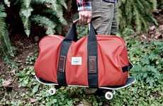 Snuffaluffagus-Inspired Carriers - The Poler Duffaluffagus Bag References 'Sesame Street'
