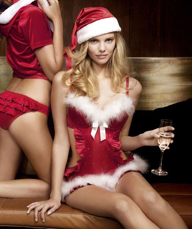 Santa-Approved Lingerie
