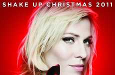 Soda-Branded Holiday Anthems - Coke's 'Shake Up Christmas' Features Voice of Natasha Bedingfield