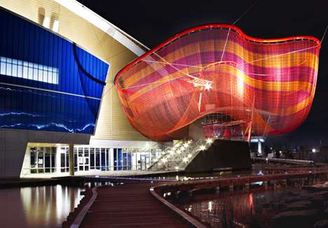 Janet Echelman String Sculptures