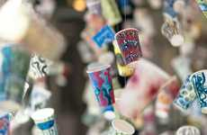 Paper Cup Installations