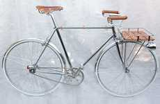 Customized '50s Cycles - The Detail Porteur Bicycle is Vintage with a Contemporary Twist