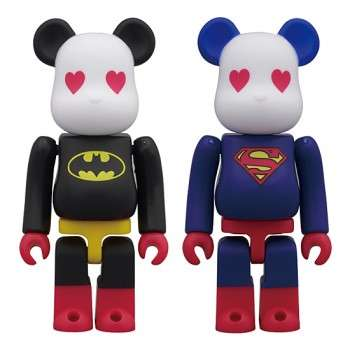Batman & Superman Bearbricks
