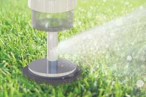 Patricia Tait's Sprinkler-Lighting System Keeps Yards Healthy and Lit