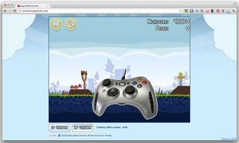 Google Chrome gamepad