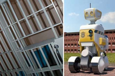 robot prison guards