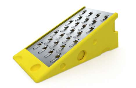 Cheese Grater by Steve Gates