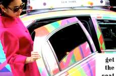 Fashionable Transportation Freebies - Kate Spade Free Taxi Rides Take Shoppers Anywhere in Manhattan
