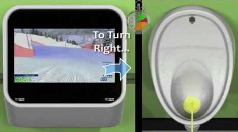 video game urinals