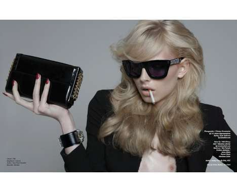 Andrej Pejic Shoots