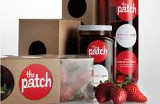 Berry-Branded Goods - The Patch Packaging Flaunts the Flavor of the Farm's Scrumptious Strawberries