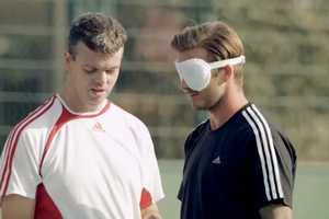 David Beckham Sainsbury's Ad Features Visually Impaired Football Team