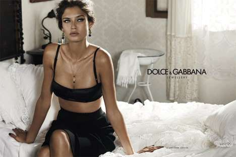 Bianca Balti for Dolce & Gabbana Jewelry 2011