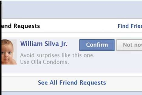 Olla Condoms Interactive Facebook Ad