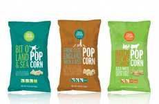 Humorous Snack Packages - Crave Canyon Features a Vibrantly Tongue-in-Cheek Design