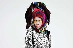 The Won Kyoung Kim Harper's Bazaar Korea November 2011 Shoot is Wild