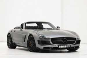 The Brabus Mercedes-Benz SLS AMG Roadster Gets Serious Makeover