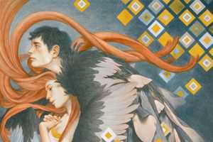 Tran Nguyen Adds Geometrical Figures to His Delicate Work