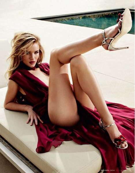 GQ Russia Rosie Huntington Whiteley