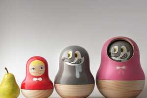 Pistacchi Design Fuses Russian Dolls with Little Red Riding Hood