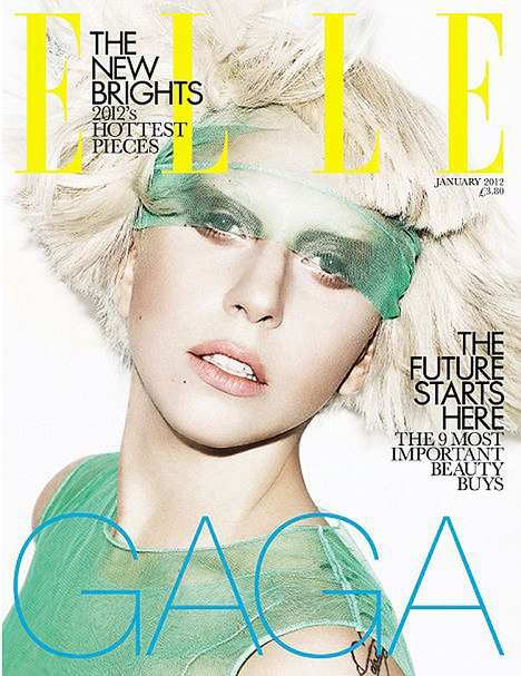 Lady Gaga ELLE UK