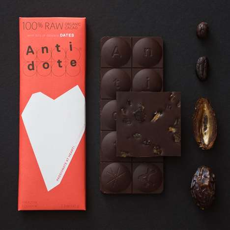 Sweet Medication Packaging - Antidote Chocolate Doles Out Tasty Relief One Pill at a Time