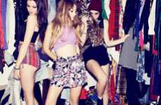 Vintage Slumber Party Lookbooks - The Minkpink S/S 2012 is Fashionably Festive and Fun