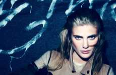 Sultry Nighttime Stroll Shoots - The Lindsay Lullman for Amica December 2011 Shoot is Haunting
