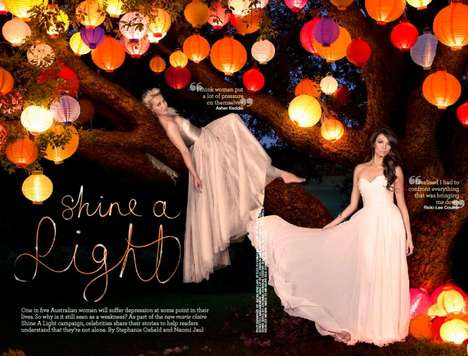 Marie Claire Australia Shine A Light