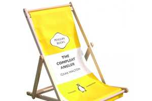 The Penguin Deckchair is the Perfect Place to Lounge with a Good Read