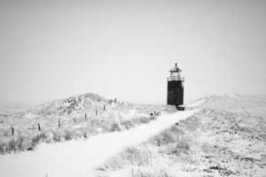 Sylt by Michael Schlegel Captures the Silent of the Snowy Outdoors