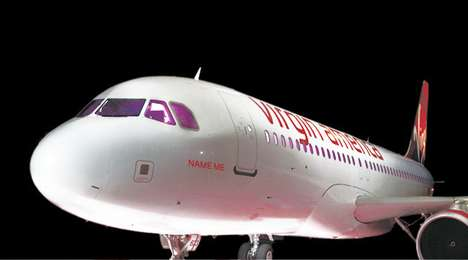 name a Virgin America Plane