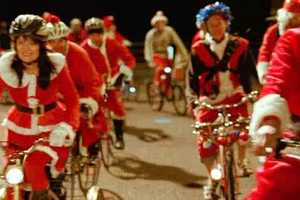 McDonald's 'Cycling Santas' Commercial Promotes Holiday Offerings